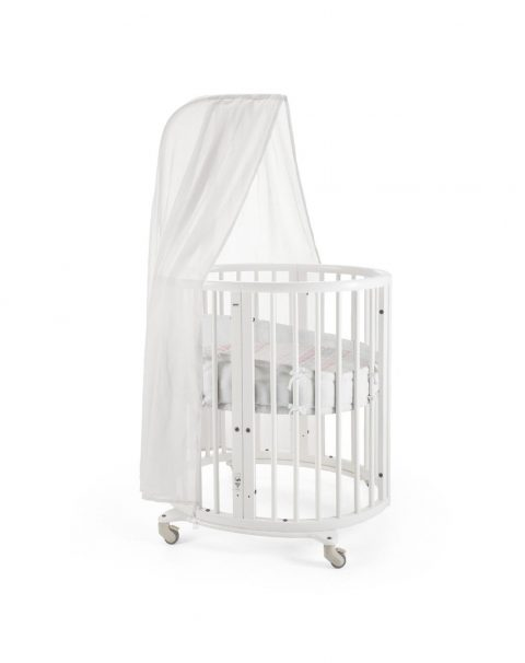 Sleepi mini 160704-8I8925 White Sheet CoralStraw Canopy Bumper.SP_35728