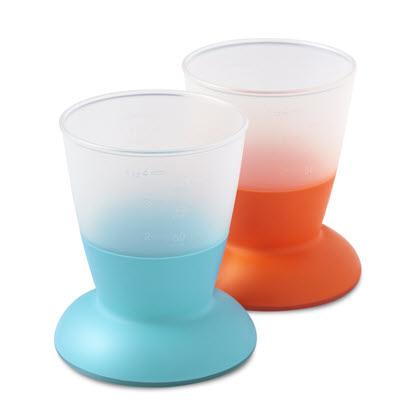 BabyCup-Orange-Turquoise