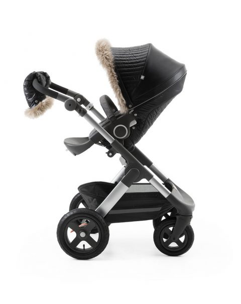 Stokke Stroller Winter Kit Onyx Black with Trailz chassis 150429-5795.SP_35926