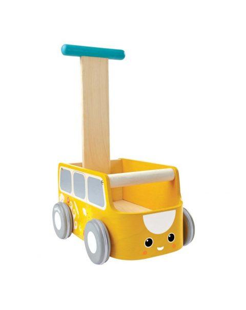 5184-plan-toys-push-pull-van-walker-yellow