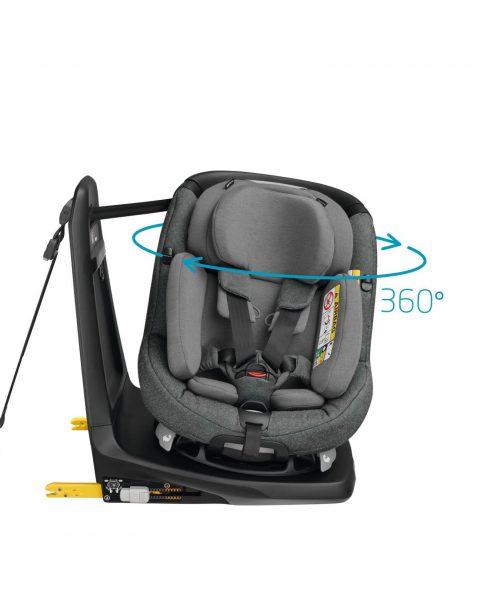 Fullscreen Retina portrait-maxicosi carseat babytoddlercarseat axissfixplus 2018 grey sparklinggrey 360degreesswivelingseat withinlayfront