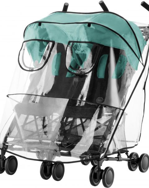 BRITAX_HOLIDAY_DOUBLE_LagoonGreen_02_Raincover_2017_72dpi_2000x2000