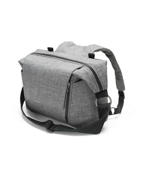 Stokke Changing Bag 160115-9038 Black Melange.SP_35175