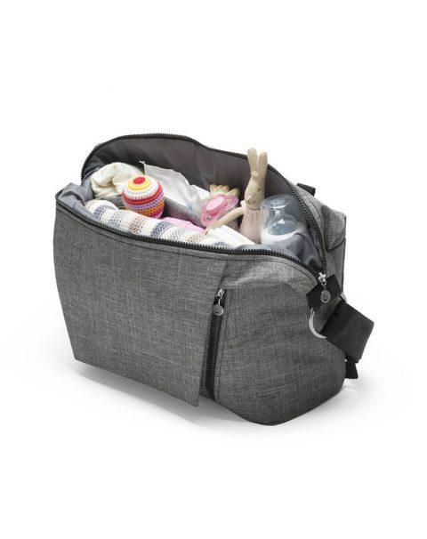 Stokke Changing Bag 160115-9098 Black Melange.SP_35903