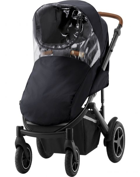 SMILE III_CognacHandle_FrostGrey_02_Raincover_Pushchair_2019_72dpi_2000x2000