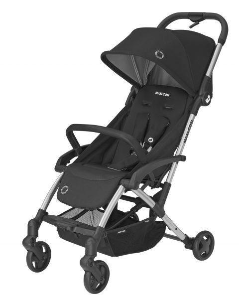 maxicosi stroller superurban laika2 black essentialblack 3qrtlef