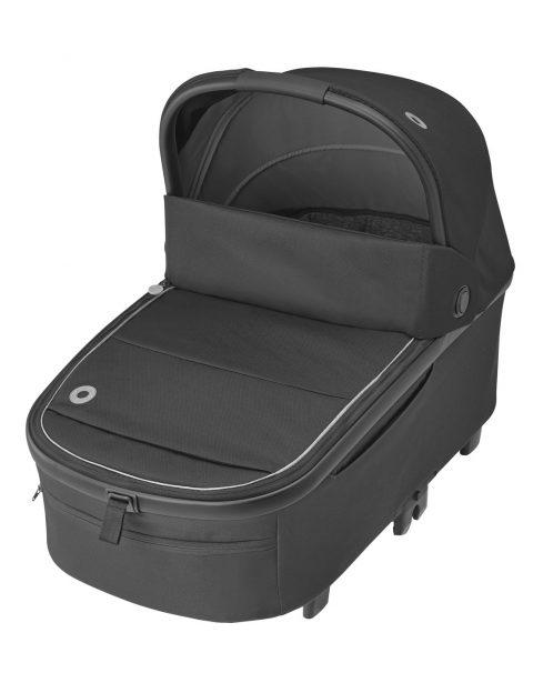 maxicosi stroller carrycot oriaxxl black essentialblack 3qrtleft